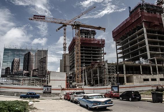 Solo en La Habana el Plan de Desarrollo del Mintur prevé la construcción de 42 nuevos hoteles para 2025. FOTO: Alejandro Basulto
